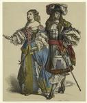 Man And Woman, 17th Century.