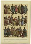 Edad Moderna : Trajes Rusos, Polacos, Húngaros Y Escoceses Del Siglo Xvii.