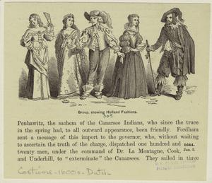 Group, showing Holland fashions.