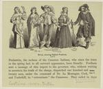 Group, showing Holland fashions