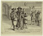 Johan van Oldenbarnevelt escorted to his execution in the Binnenhof, The Hague, 13 May 1619