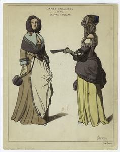 Dames anglaises, 1644.