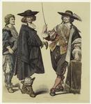 [French men, 1650s.]