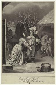 Eine adelige Familie, zur Zeit der Fronde 1649.