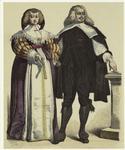 German Man And Woman, Seventeenth Century.