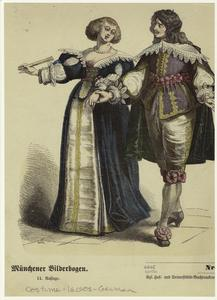 [German man and woman, seventeenth century.]