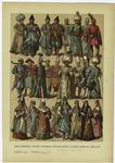 Edad moderna -- trajes tartaros y turcos (estos últimos hasta el año 1700).