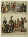 English and Scottish dress, 18th century.