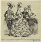 Costumes De Marie-Antoinette, Du Comte Et De La Comtesse De De Provence, Et Du Comte D'Artois, Au Bal De La Cour En 1785.