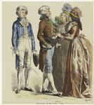 Bürgerliche Tracht 1790-1792.