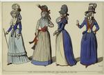 Modes Revolutionnaires, Paris, Sept. 1789; Mars, Avril, Et Août 1790.