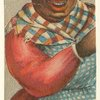 African American woman in headscarf.