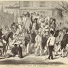 Slave Sale, Charleston, South Carolina : From A Sketch By Eyre Crowe.