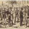 South Carolina -- the celebration of Emancipation Day in Charleston, January 8th: The procession forming near Citadel Square
