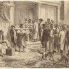 Freedmen Voting In New Orleans.