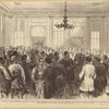 Louisiana: The presidential election : colored citizens describing their wrongs to the Northern commissioners in the St. Charles Hotel, New Orleans