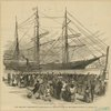 New York City : Departure Of Colored Emigrants From The South For The Liberian Republic, On January 2d.