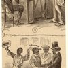 Caucasian Men And African American Man, Ca. 1867 ; African American Men Dancing, Ca. 1867.]