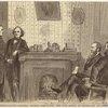 Impeachment: General Thomas demanding the War Office of Secretary Stanton