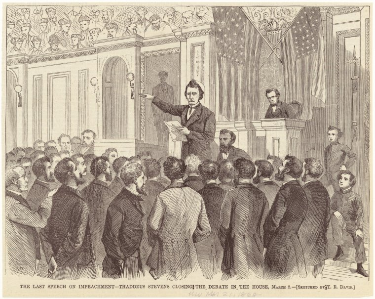 Fascinating Historical Picture of Theodore R Davis on 3/21/1868