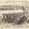 Attack on enemy's train by 48th Volr. Rgt