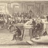 Taking the vote on the impeachment of President Johnson, Senate chamber, Washington, D.C., May 16th, 1868.