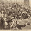 The impeachment trial, Washington D.C.--remarkable scene in the United States Senate, May 6th.  The audience in the galleries applauding at the close of Manager Bingham's speech.