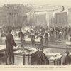 États-Unis -- lecture de l'acte de mise en accusation du président Johnson, à la barre du Sénat, à Washington