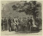 The Civil War in America : Confederate prisoners captured by United States' pickets between Fairfax and Manassas Junction, Virginia.