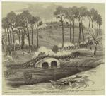 Battle of Antietam, Maryland--Burnside's division carrying the bridge over the Antietam Creek, and storming the rebel position after a desperate conflict of four hours, Wednesday, September 17.
