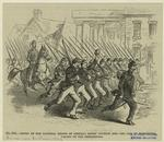 Entry of the national troops of General Banks' division into the city of Winchester, Valley of the Shenandoah.