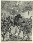 General Lee leading the troops at Chancellorsville.