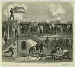 The war in America : scene at Fort Moultrie during the bombardment of Charleston.