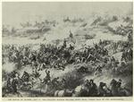 The Battle of Atlanta, Ga., July 22, 1864 : Fuller's division rallying after being forced back by the Confederates