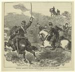 General Sheridan turning defeat into victory at Cedar Creek