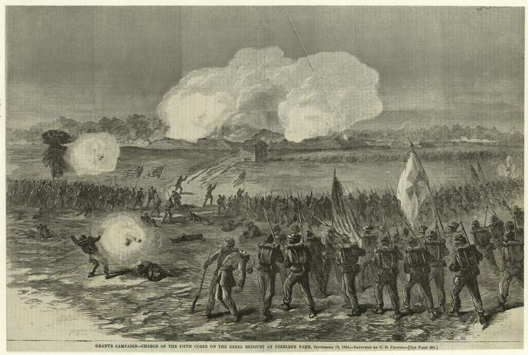 Fascinating Historical Picture of C. H. Chapin on 10/22/1864