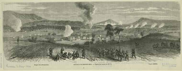 This is What W. S and Bataille de Fishers Hill Looked Like  on 10/29/1864