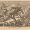 Heroic death of Custer.