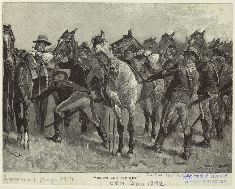 Fascinating Historical Picture of Frederic Remington on 1/1892