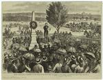 Kansas.--Dedication of a monument to John Brown, on the twenty-first anniversary of the Battle of Ossawattomie, August 30th.