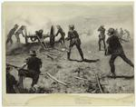 The attack on El Caney, Puerto Rico [i.e., Cuba], July 1, 1898.