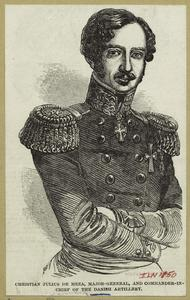 Christian Julius de Meza, Major-general, and Commander-in-chief of the Danish artillery.