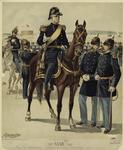Major-General, Staff & Line Officers (Full Dress).