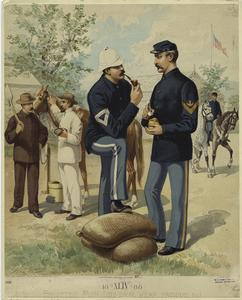 Enlisted men (general wear, fatigue, &c.).
