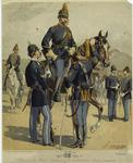 Enlisted Men, Cavalry & Infantry (Full Dress).