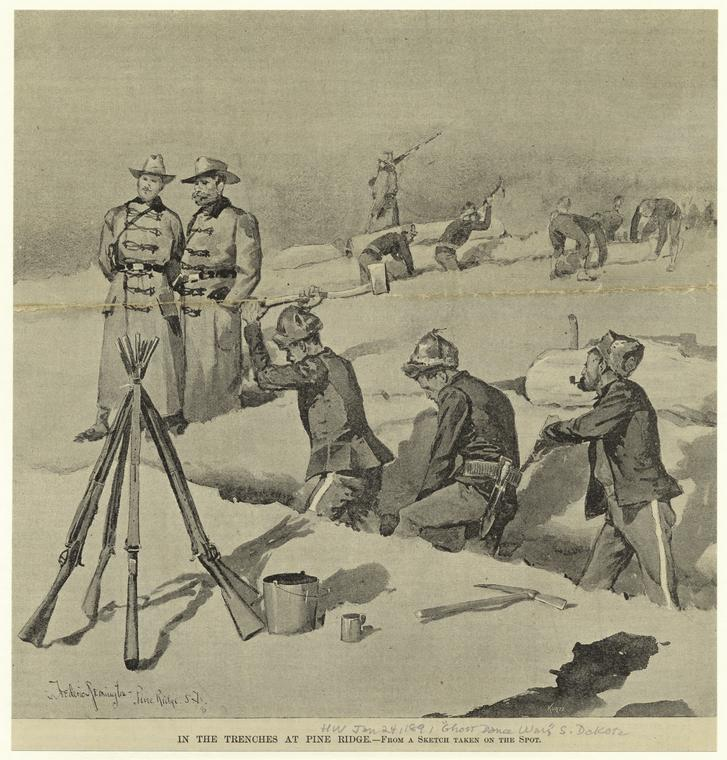 Fascinating Historical Picture of Frederic Remington in 1890
