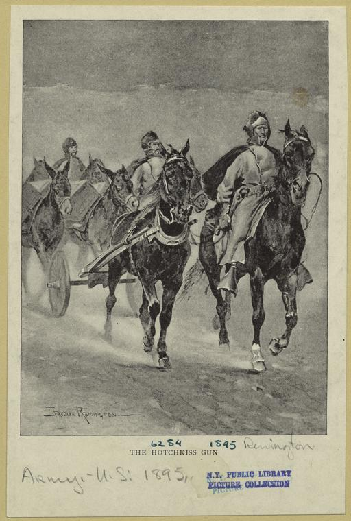 Fascinating Historical Picture of Frederic Remington in 1895