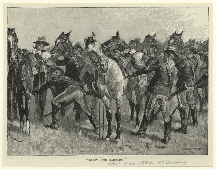 Fascinating Historical Picture of Frederic Remington in 1892