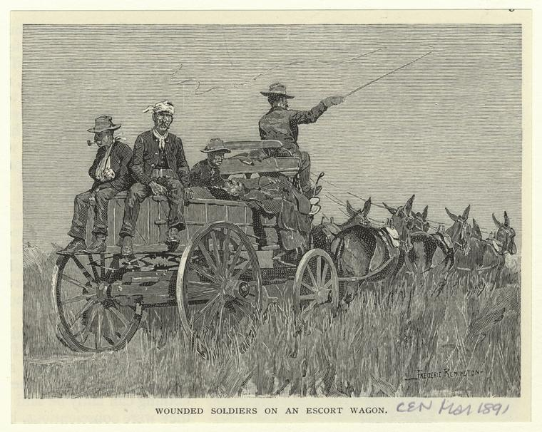 Fascinating Historical Picture of Frederic Remington in 1891