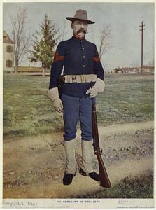 1st Sergeant of Artillery.